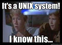 Unix - I Know This